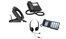 Mitel phones and accessories